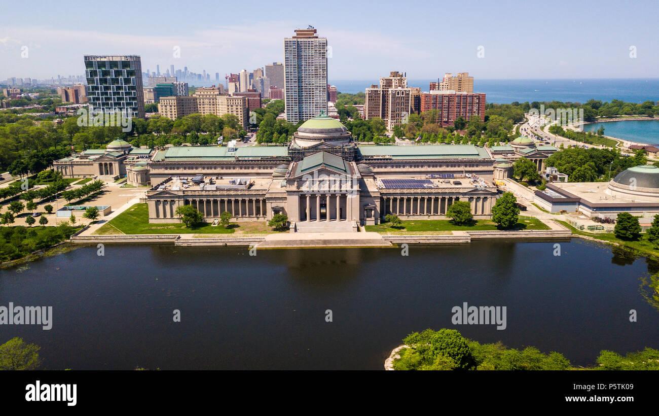 Il Museo della Scienza e dell'industria, Chicago, IL, Stati Uniti d'America Immagini Stock