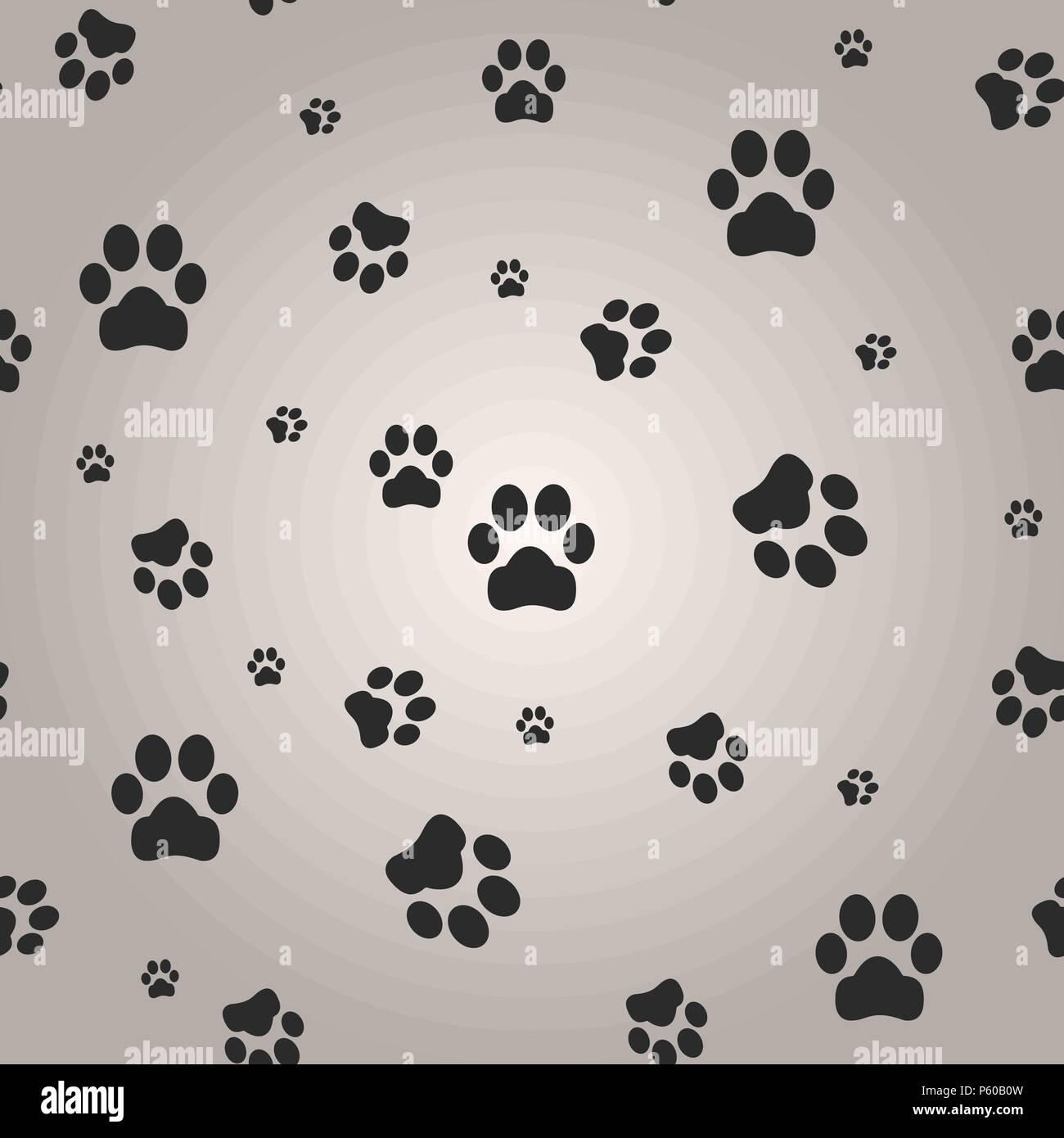 Ufengke cartone animato cucciolo carino sonno stampe zampa del