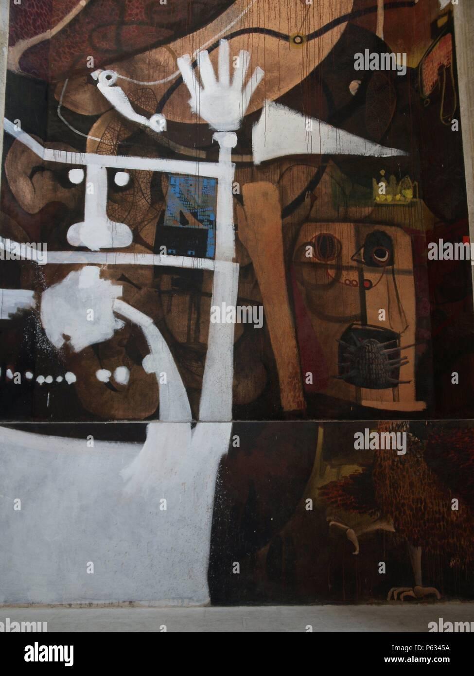 PRESENTACION DEL LIBRO DE LAS PINTURAS DE ALARCON. CAMARAS, REPORTAJE Retratos y. Immagini Stock