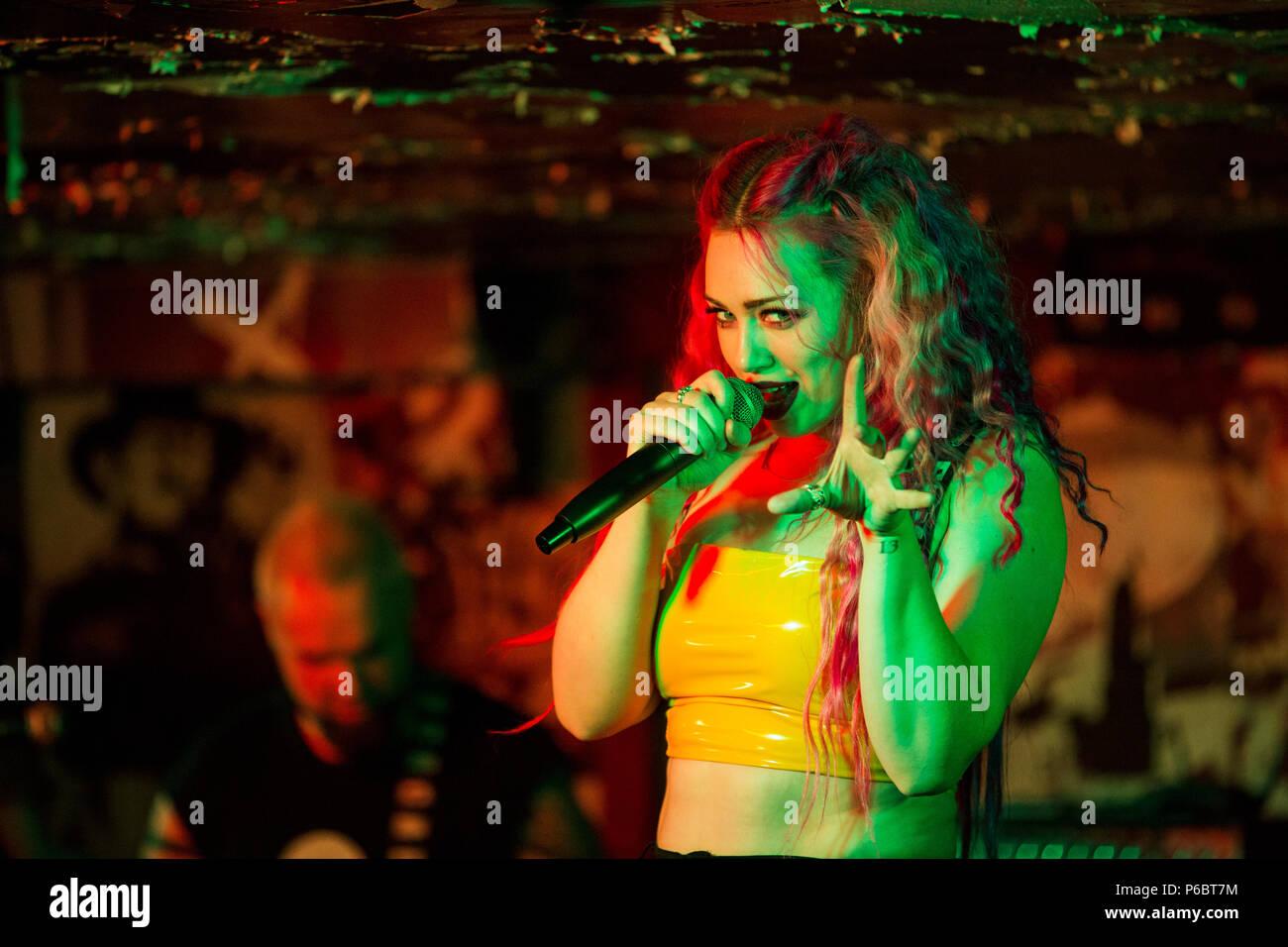 Sumo SCOCI - Skye Sweetnam (server) - Newcastle 2018 Immagini Stock