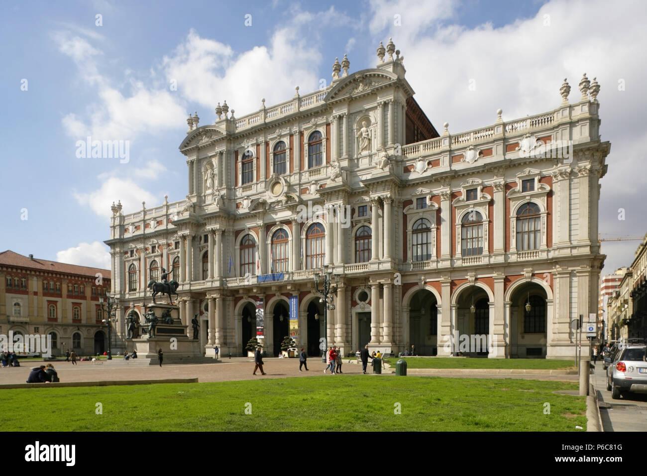 Museo Del Risorgimento Torino.Il Barocco Del Xvii Secolo Il Palazzo Carignano Sede Del Museo