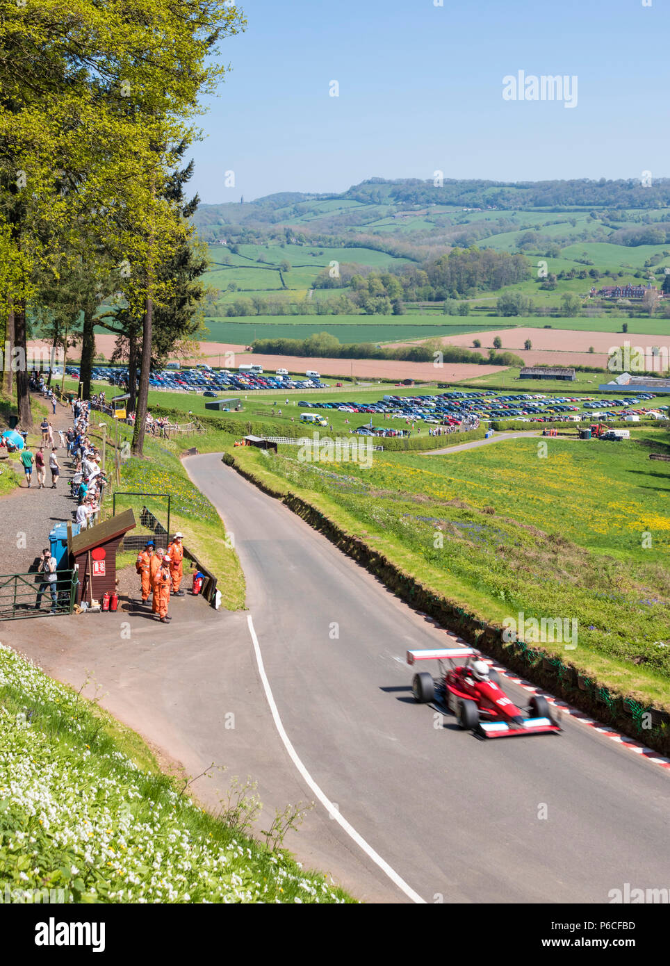 Walsh shelsey hill climb Immagini Stock