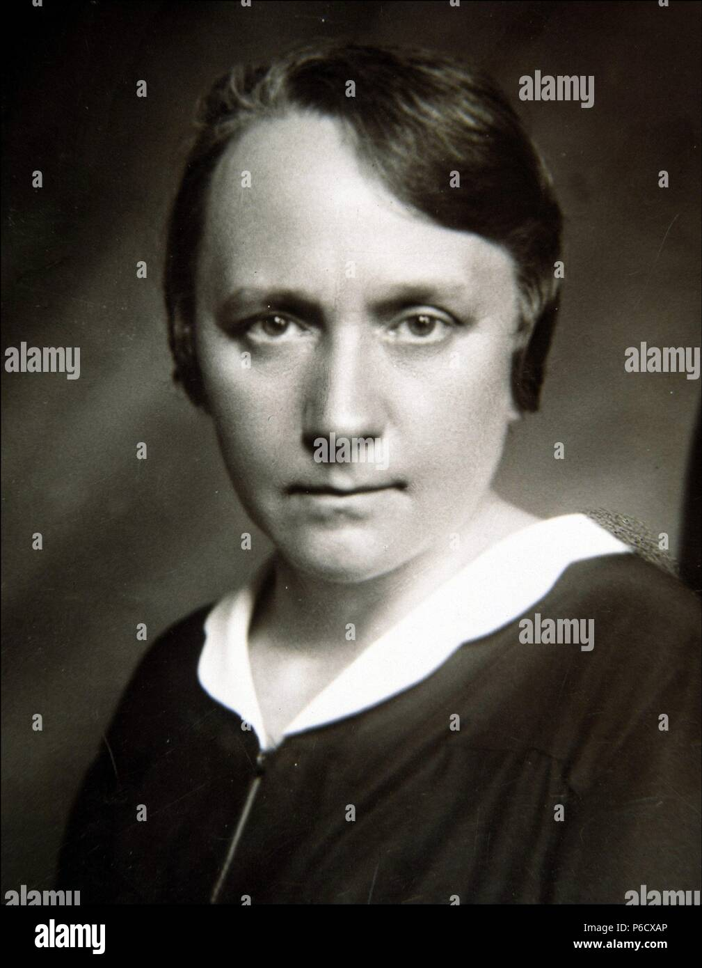 MAEZTU , MARIA DE PEDAGOGA Y ESCRITORA ESPAÑOLA. VITORIA 1882-1948 REPRODUCCION FOTO. Foto Stock