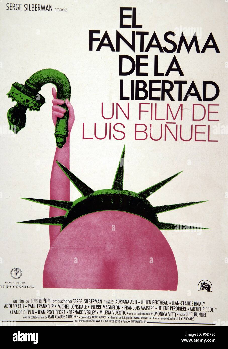 PELICULA : EL FANTASMA DE LA LIBERTAD , 1974. Direttore : Luis Buñuel. ACTORES : Adriana Asti , JULIEN BERTHEAU. PRODUCCIO : FRANCIA E ITALIA. Immagini Stock