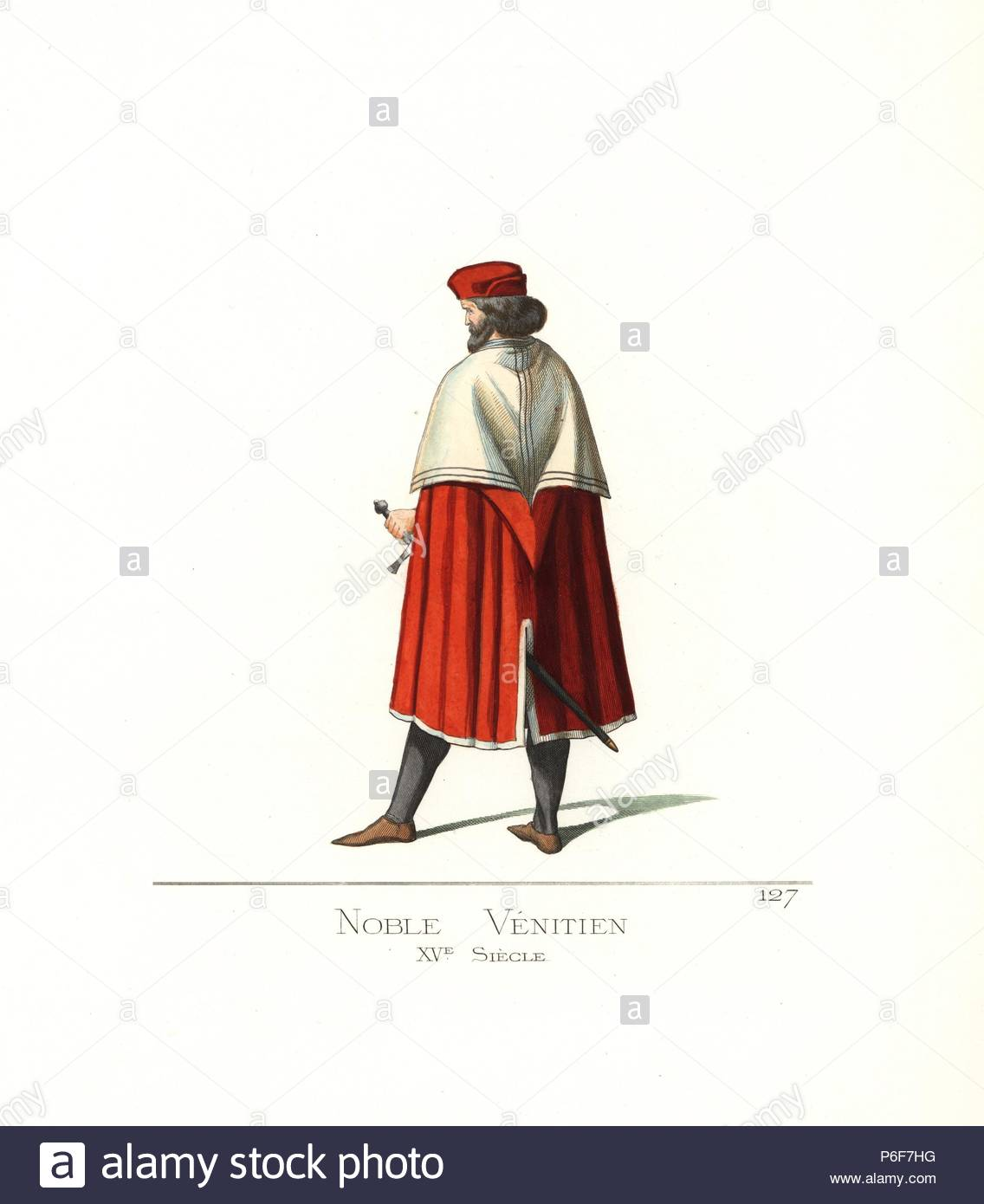 Costume di un nobile Veneziano uomo a704e4b6577