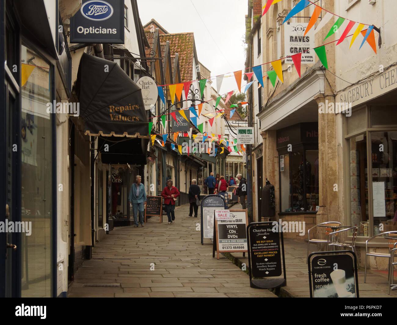 Somerset attrazioni turistiche Uk Somerset Weston super Mare. Cattedrale di Wells city. Immagini Stock
