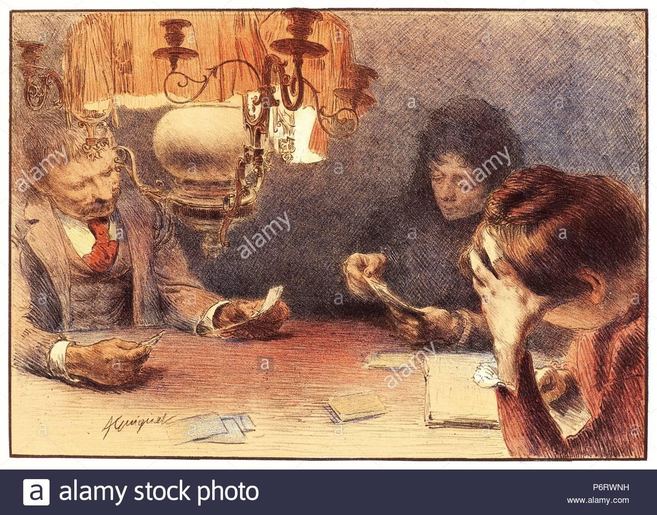 Lampadario Di Carta Velina : Jean adrien guignet francese 1816 1854 . la lampada ca. 1898