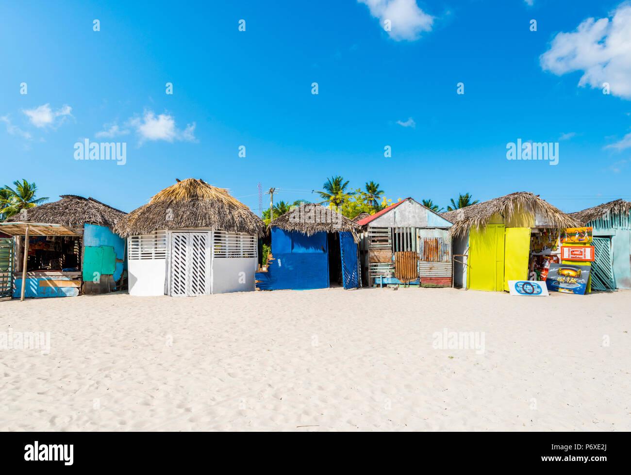 Mano Juan, Saona Island, Parco Nazionale Orientale (Parque Nacional del Este), Repubblica Dominicana, Mar dei Caraibi. Foto Stock