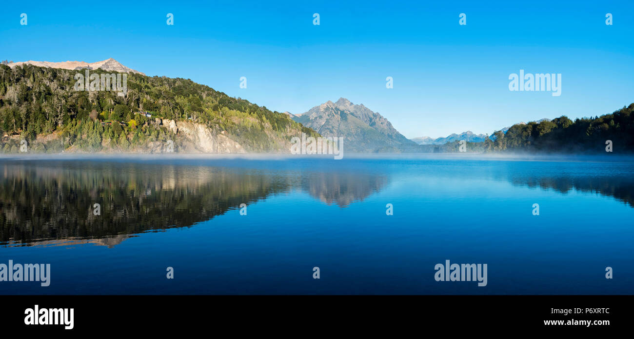 Sud America, Argentina, Patagonia, Rio Negro, Parco Nazionale Nahuel Huapi paesaggio Immagini Stock