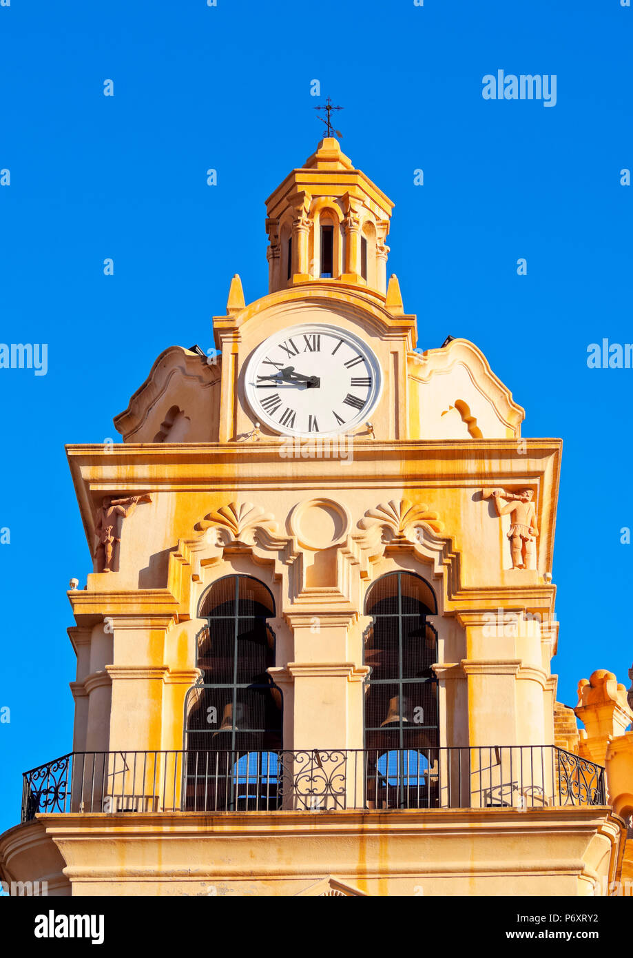 Argentina, Cordoba, vista dettagliata della cattedrale di Cordoba. Immagini Stock