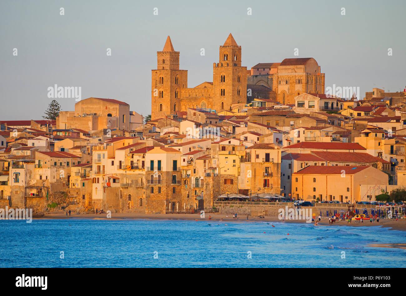 Cefalù, Sicilia, Italia, Europa Immagini Stock