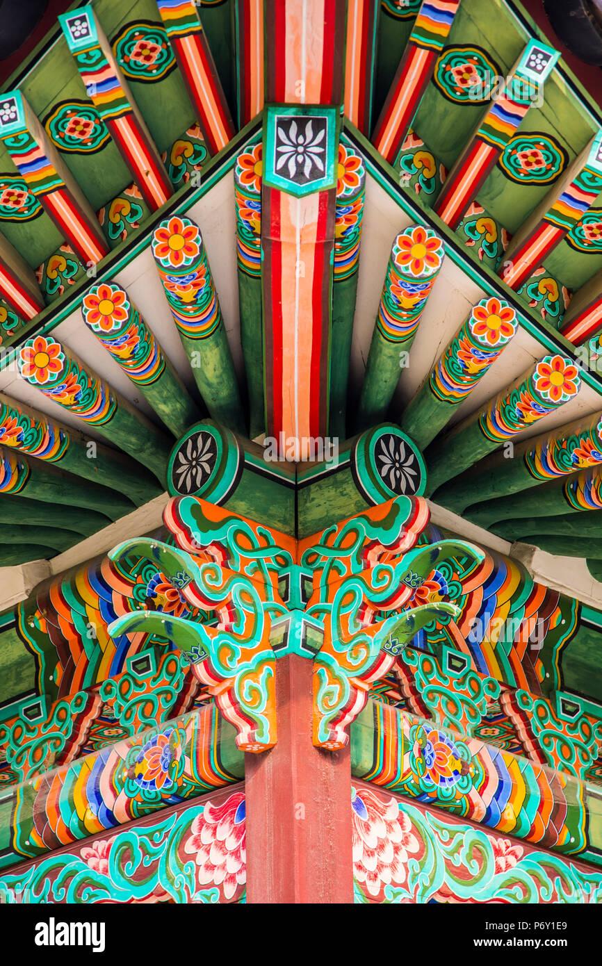 Palazzo di Changdeokgung, Seoul, Corea del Sud Immagini Stock