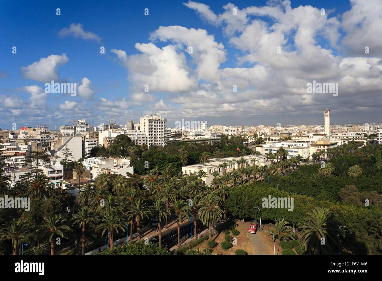 Il Marocco, Casablanca Immagini Stock