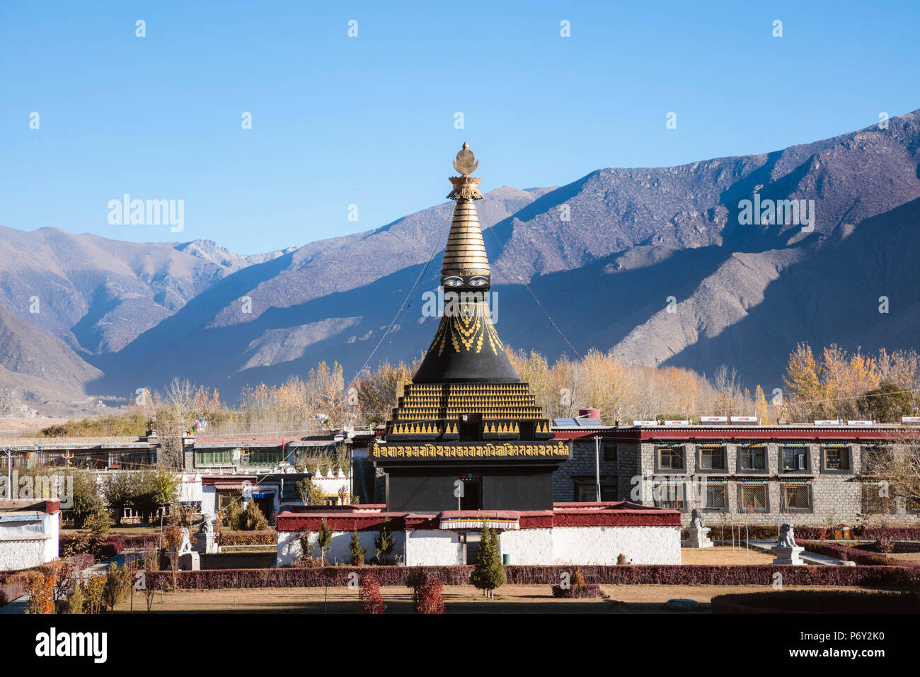 Monastero di Samye, Tibet, Cina Immagini Stock