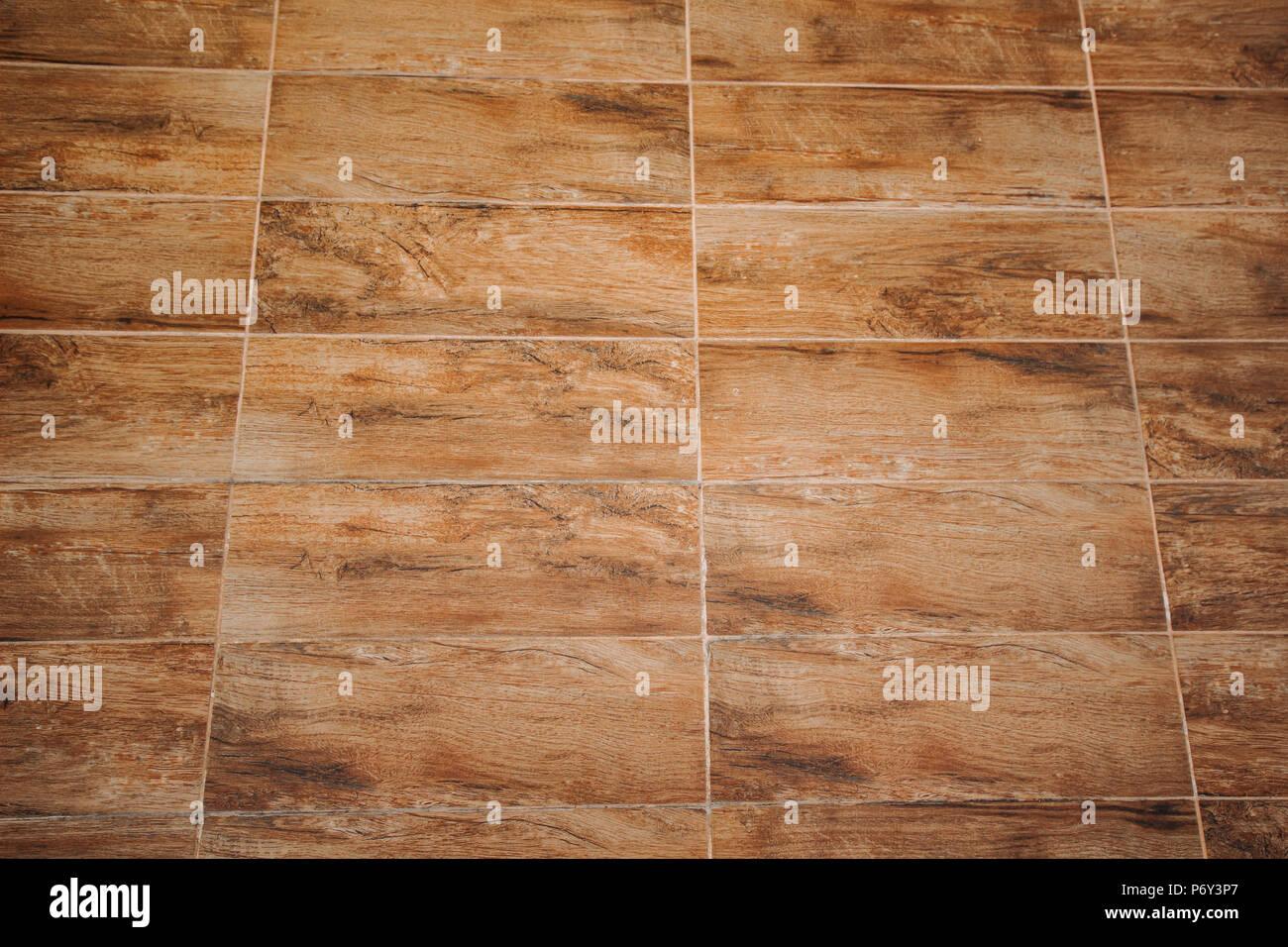 Sfondo del pavimento e texture decorativo di redwood striscia sulla