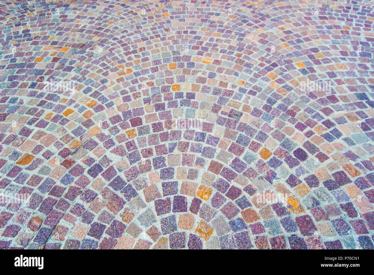 Modellato piastrelle cemento pavimento in cotto background