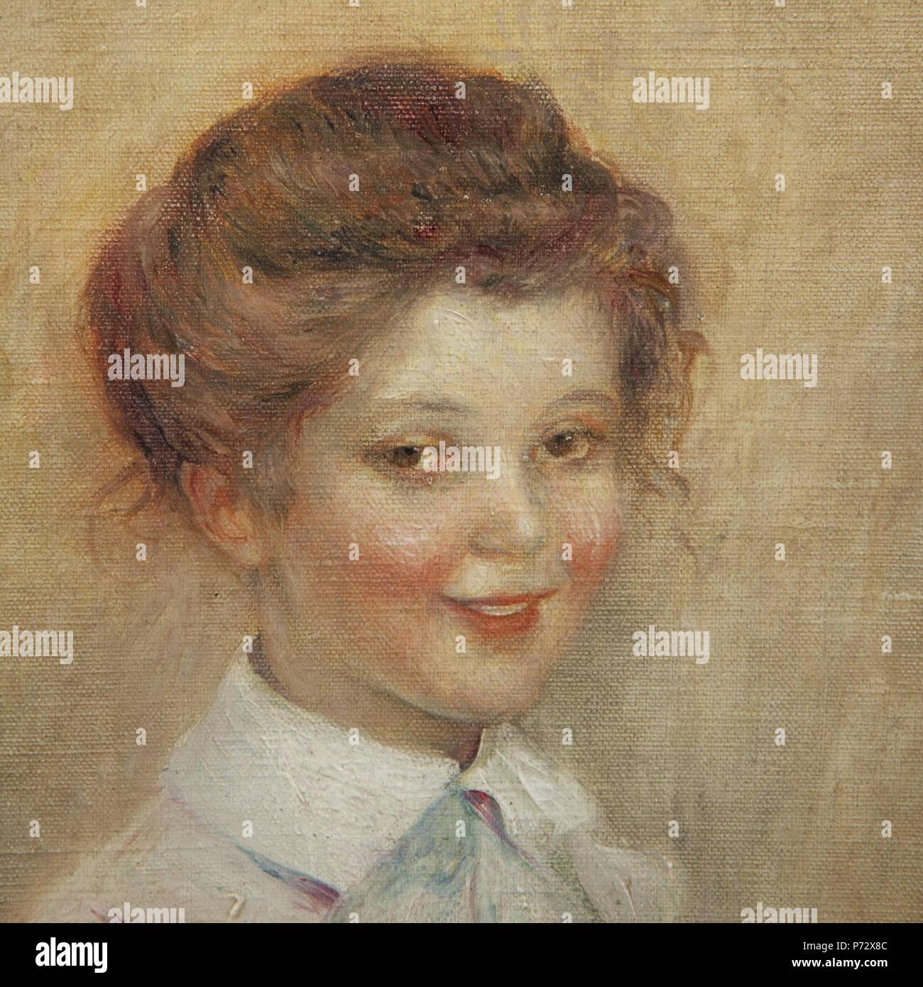 54073a46f1 Inglese: Ritratto d'une jeune fille . 1 gennaio 2016 2 Abel Faivre -