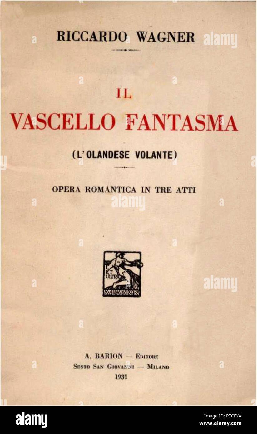 1931-Vascello-fantasma. Immagini Stock