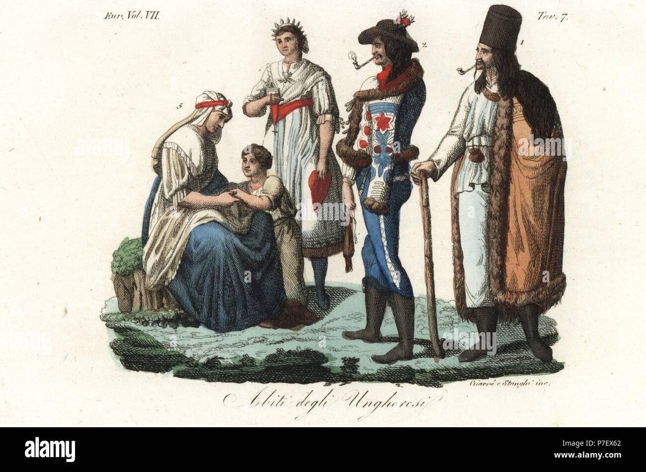 I costumi degli ungheresi  contadino in abiti tipici 1 1bd7c5f10106