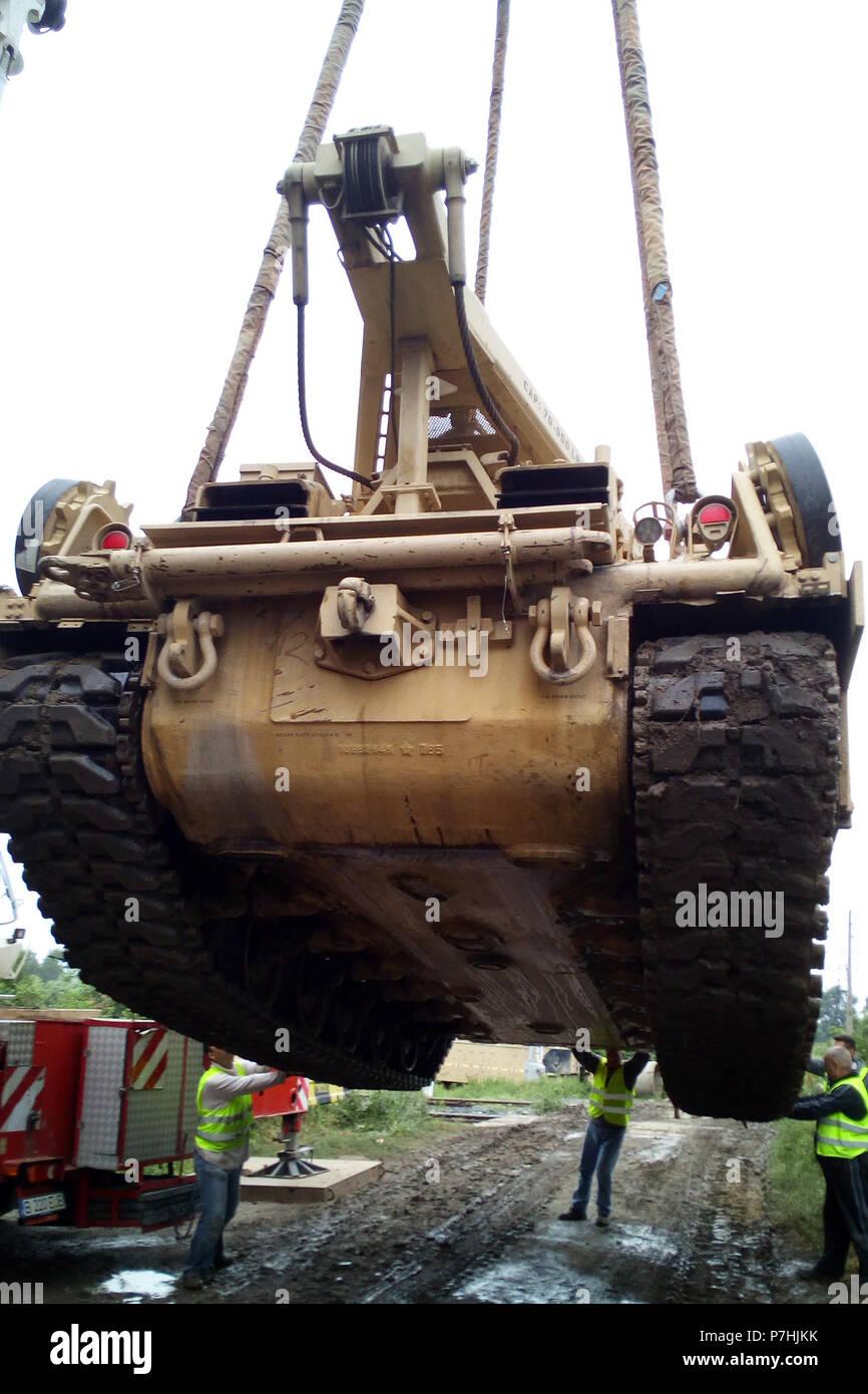 Imprenditori Rumeni Preparare Un M88a2 Hercules Corazzato Veicolo Di
