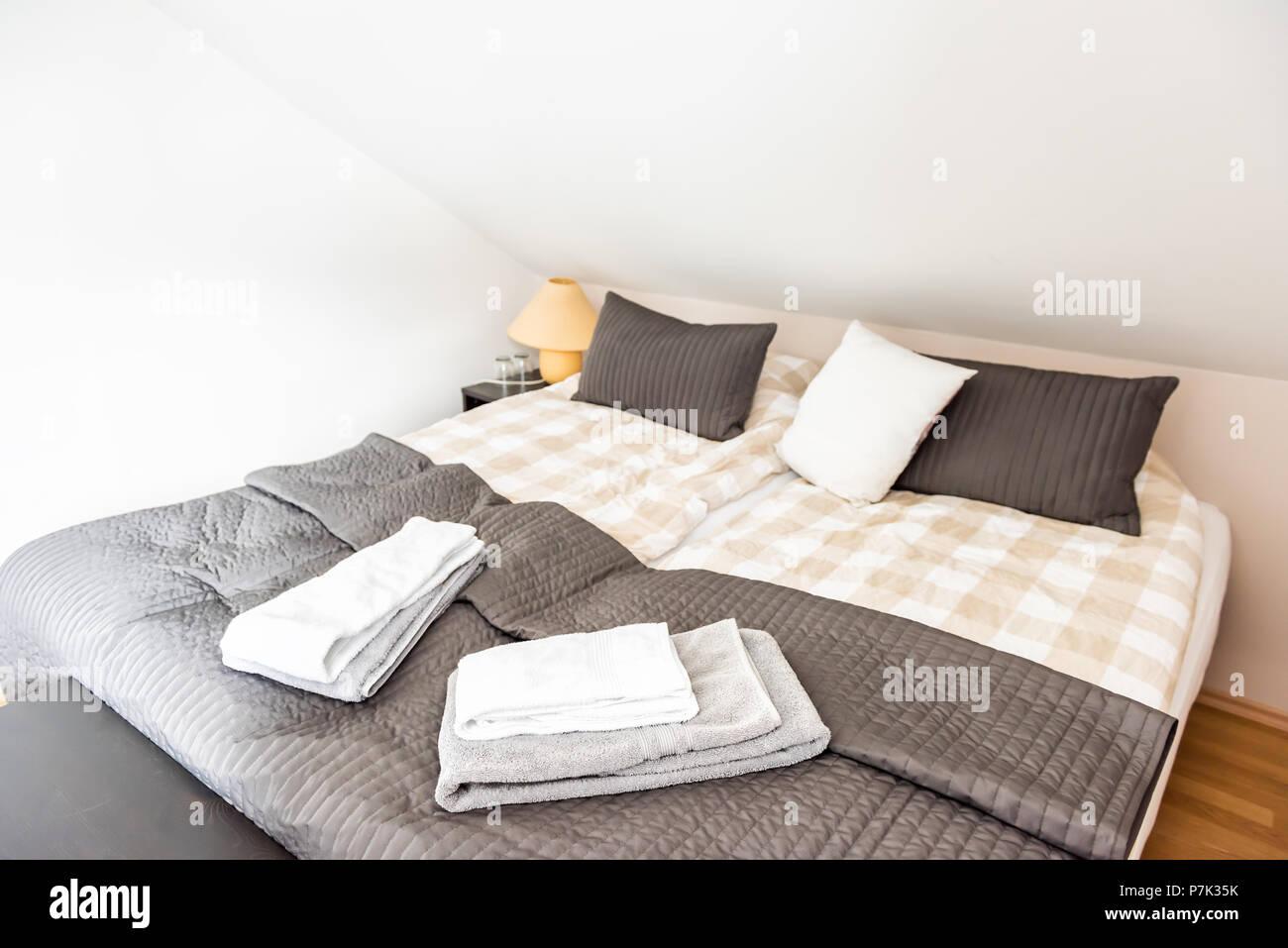Nuovo pulita unione twin double queen size comforter con