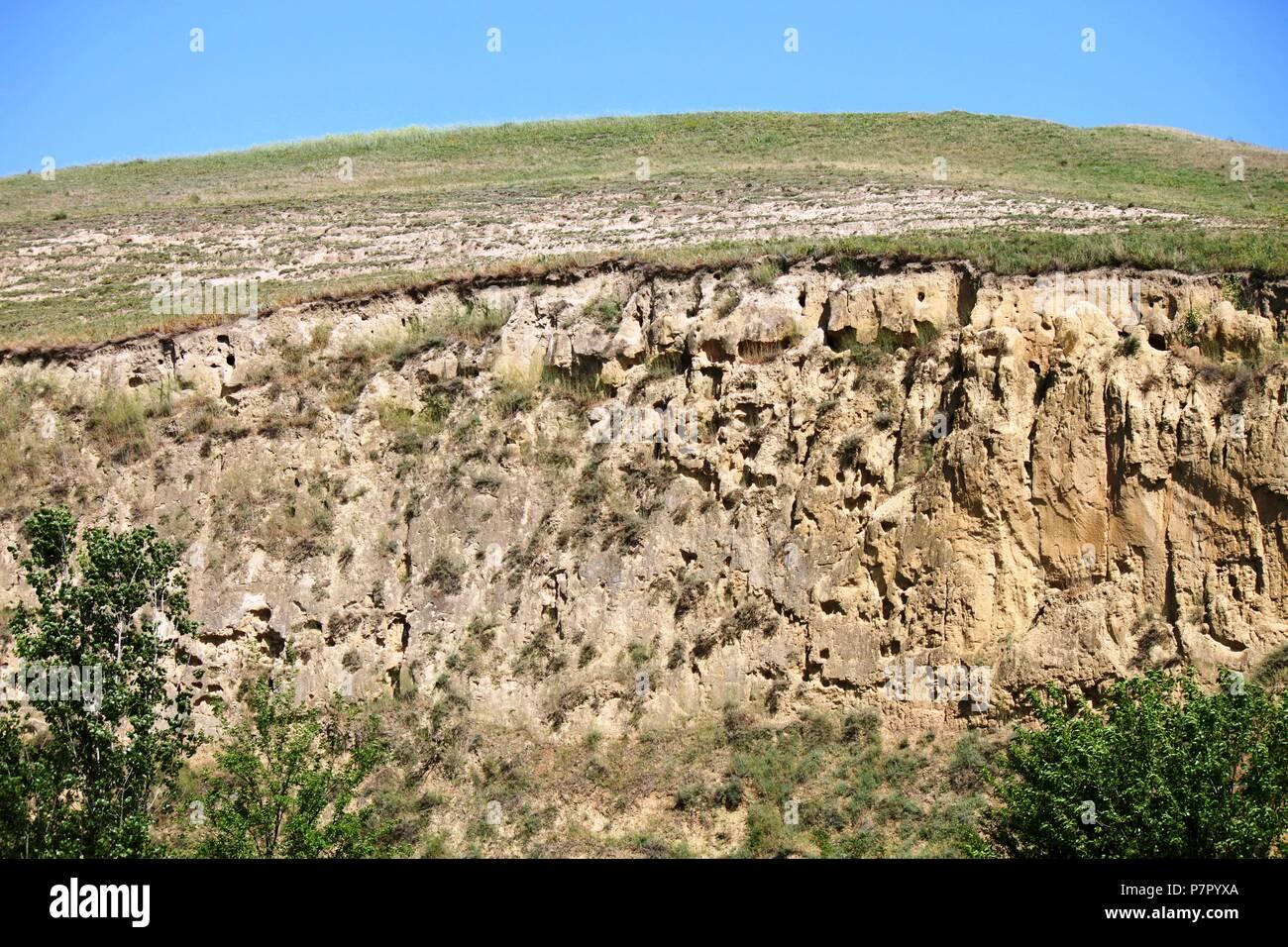 Titel Hill, Serbia Immagini Stock
