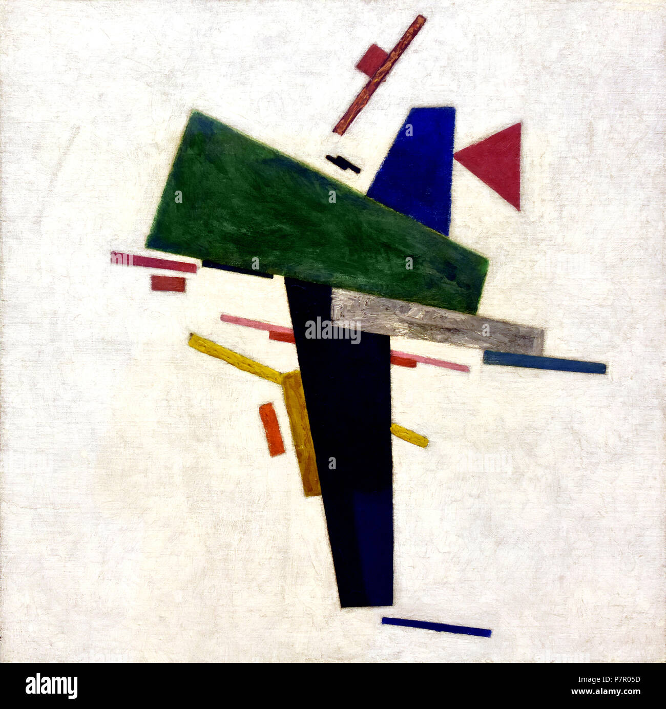 Untitled 1916 Kazimir Malevich 1878-1935 Federazione Russia URSS Foto Stock