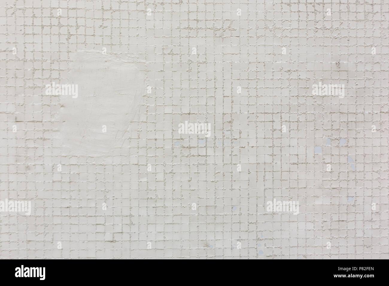 Quadrato bianco piastrelle pattern sfondo texture foto & immagine