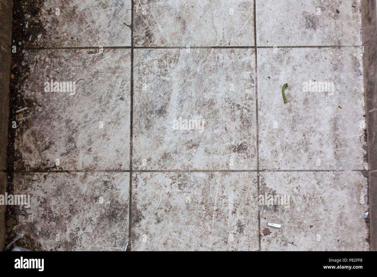 Sporchi le piastrelle di ceramica pattern sfondo texture foto
