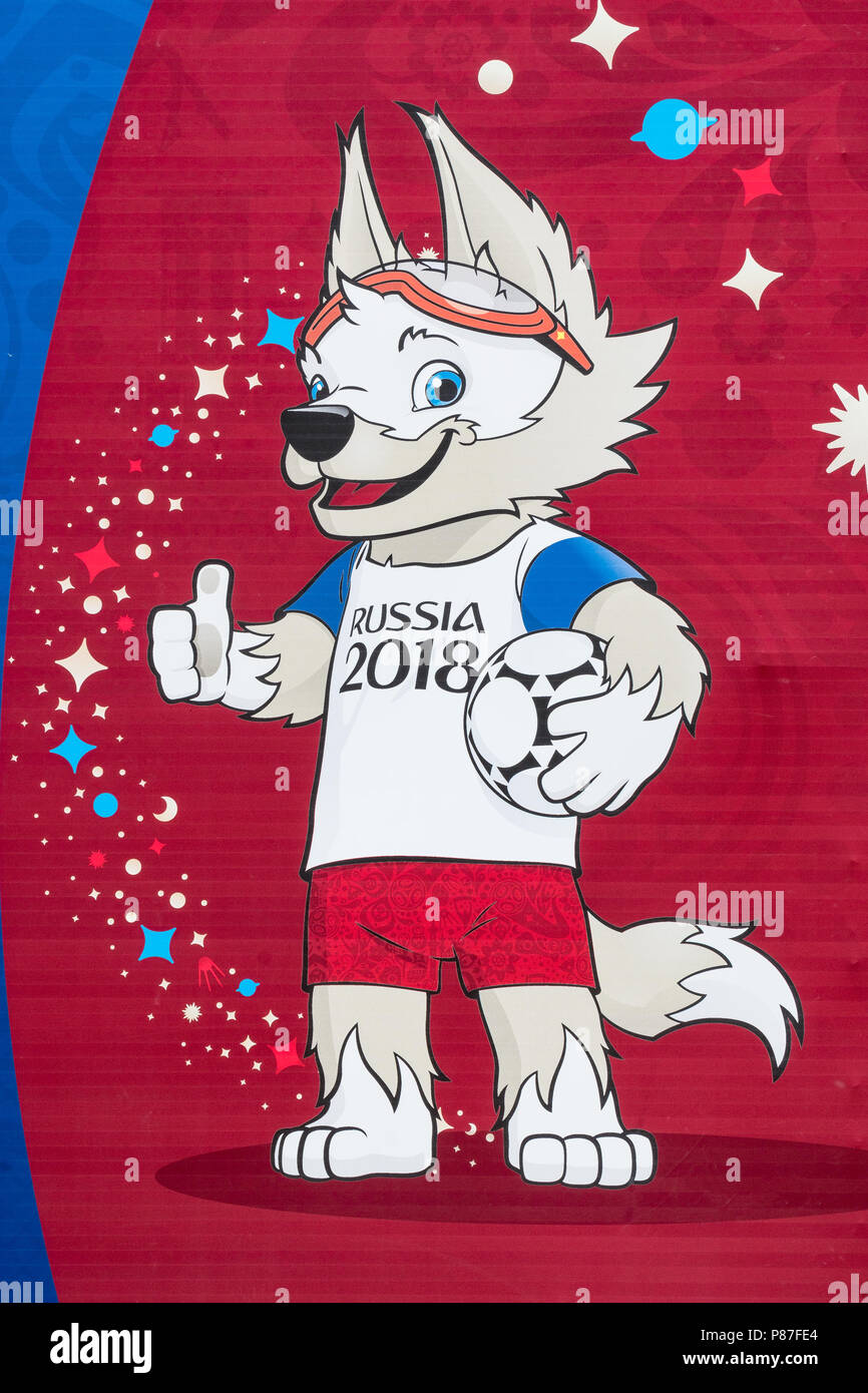 best service 313ea b3439 SAMARA, RUSSIA - circa giugno, 2018: Billboard con il logo ...