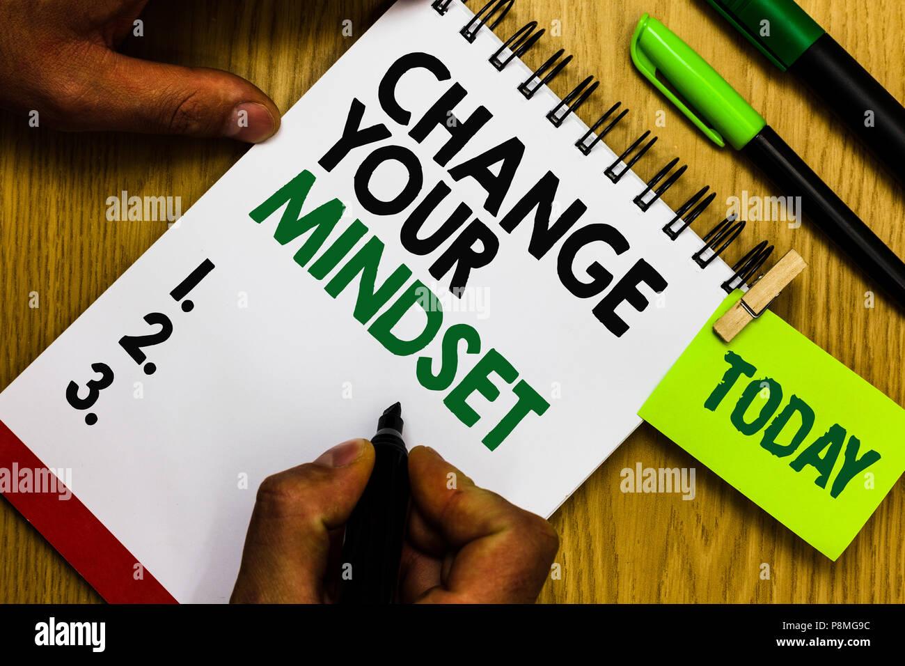 La Credenza Significato : Scrittura testo modifica la tua mentalità. concetto significato
