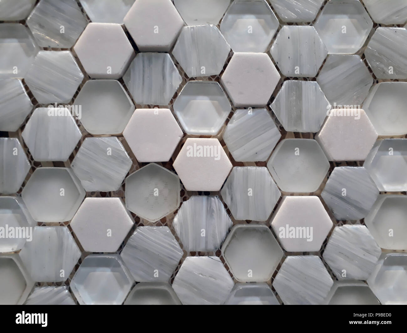 Hexagon texture immagini hexagon texture fotos stock alamy