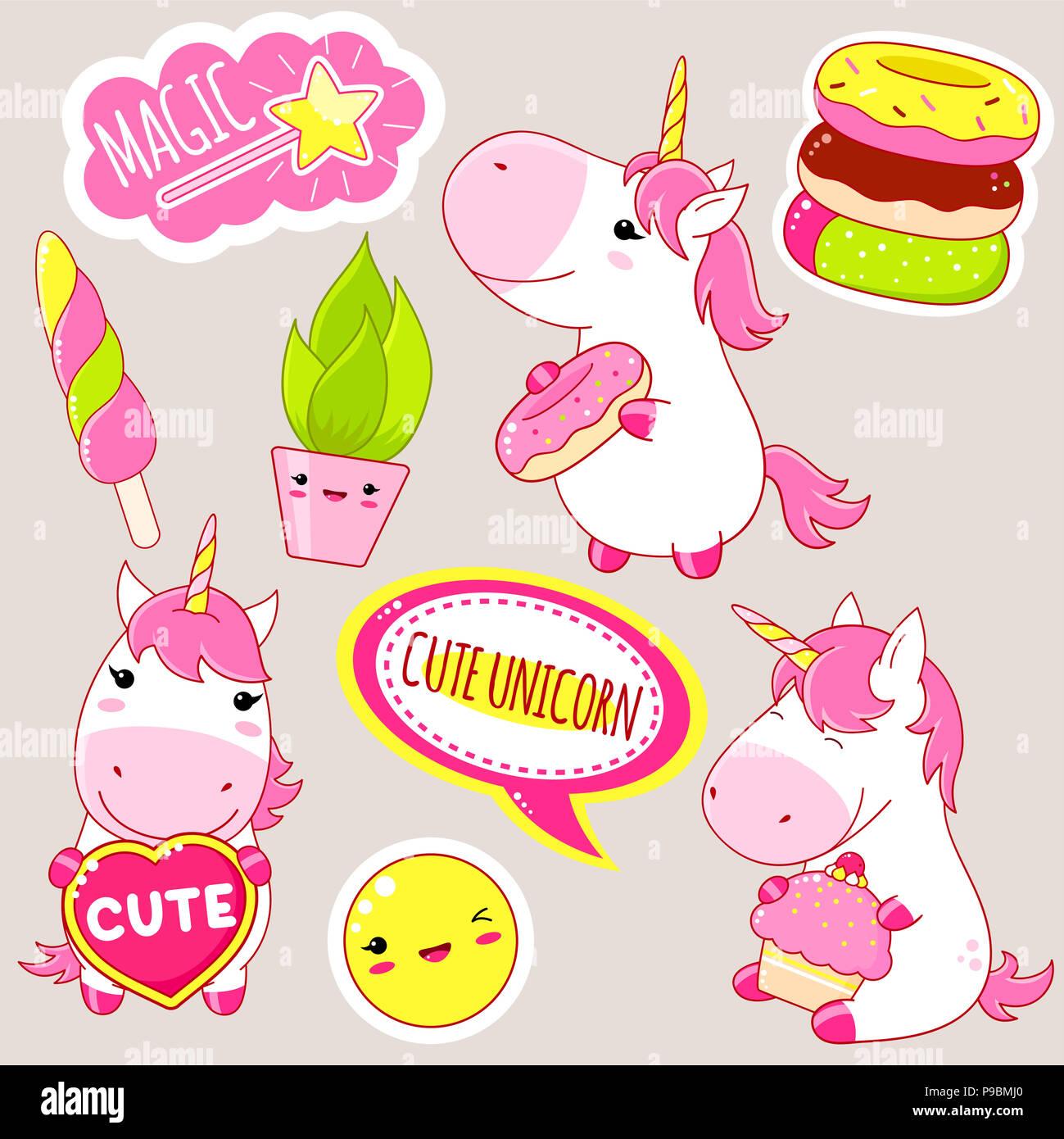 Unicorn Unicorns Magic Immagini Unicorn Unicorns Magic Fotos Stock