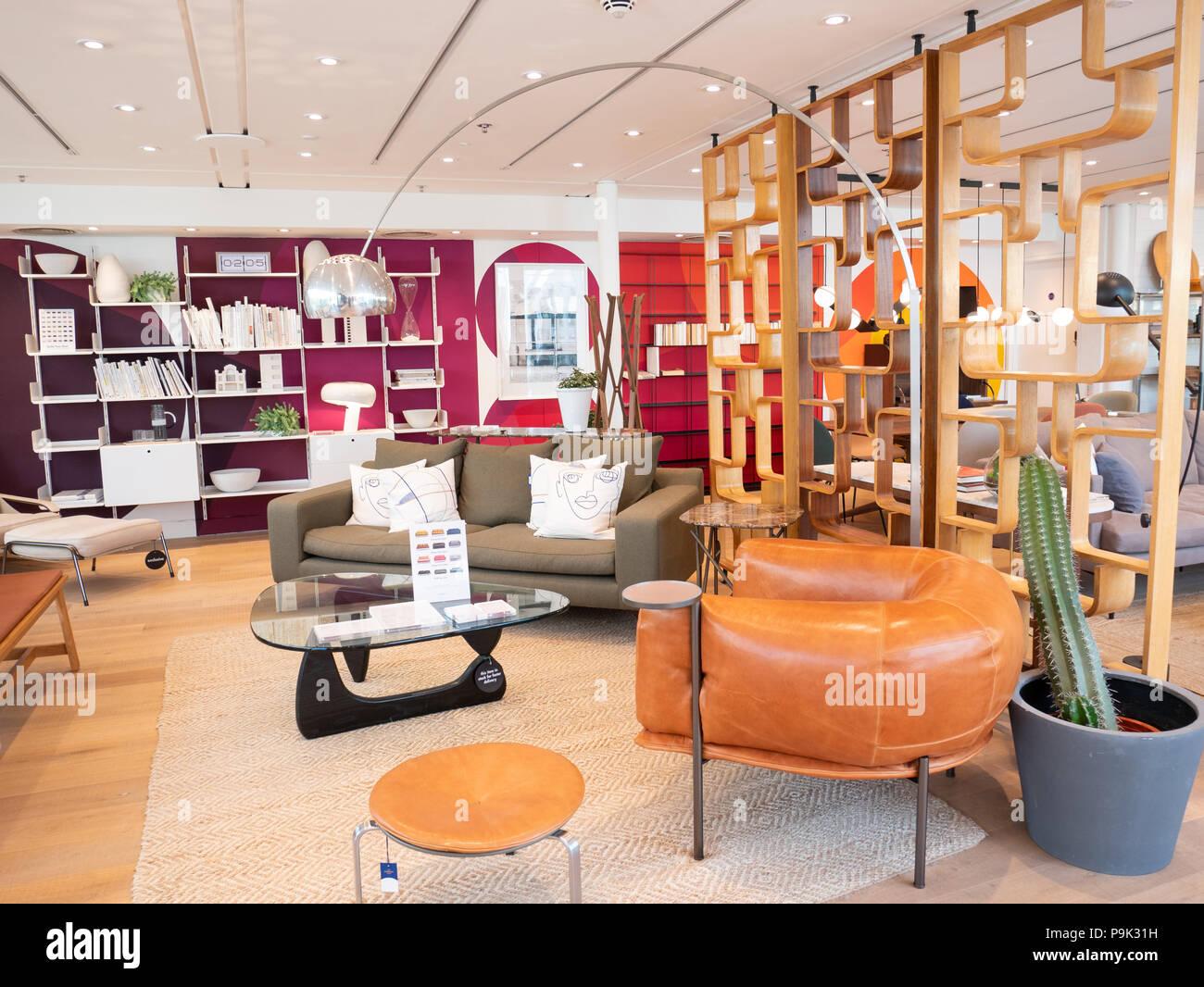 Il negozio Conran, Marylebone, London, Regno Unito Immagini Stock