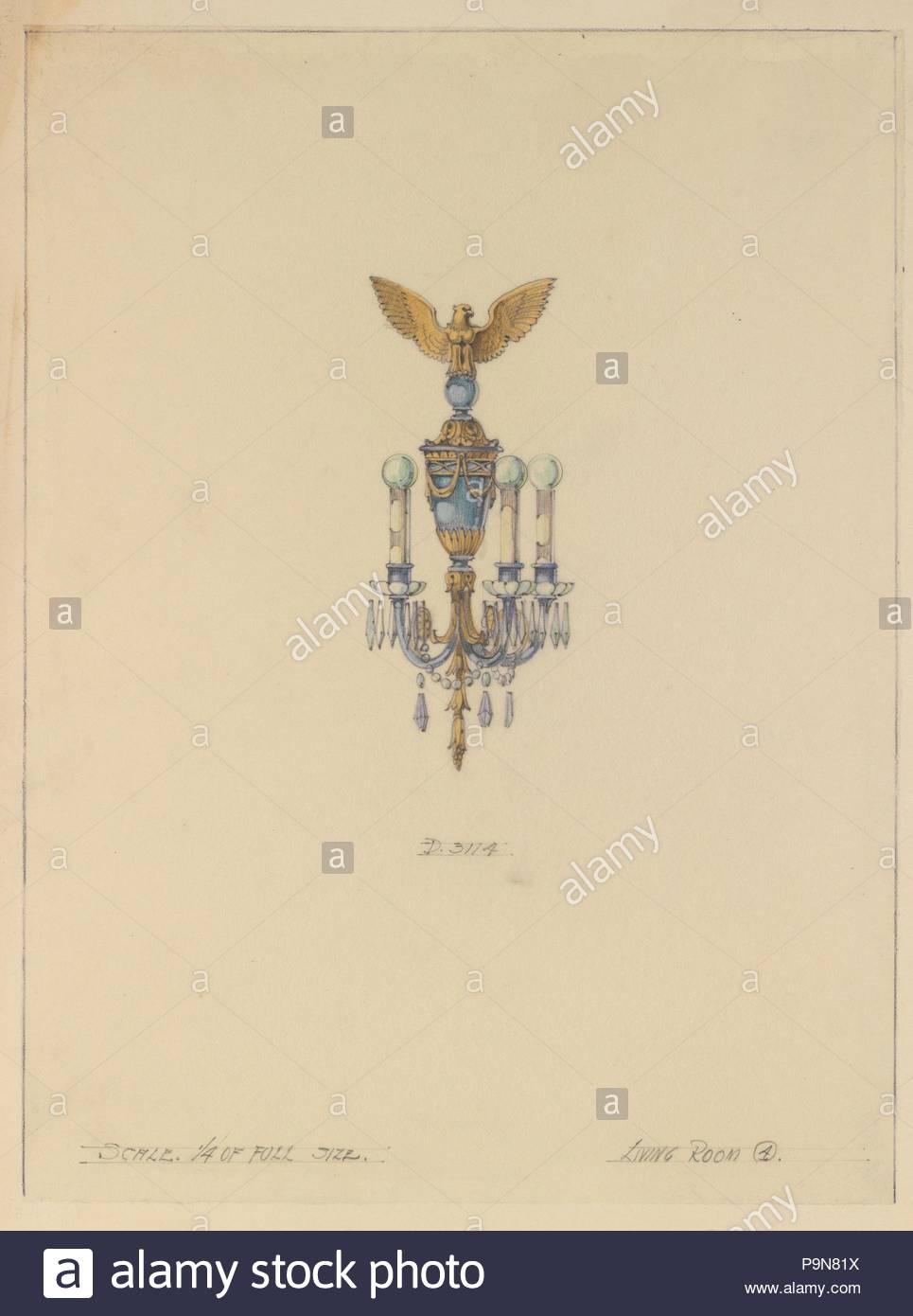 Design Per Fissaggio A Parete Ca 1905 20 Realizzato A New York