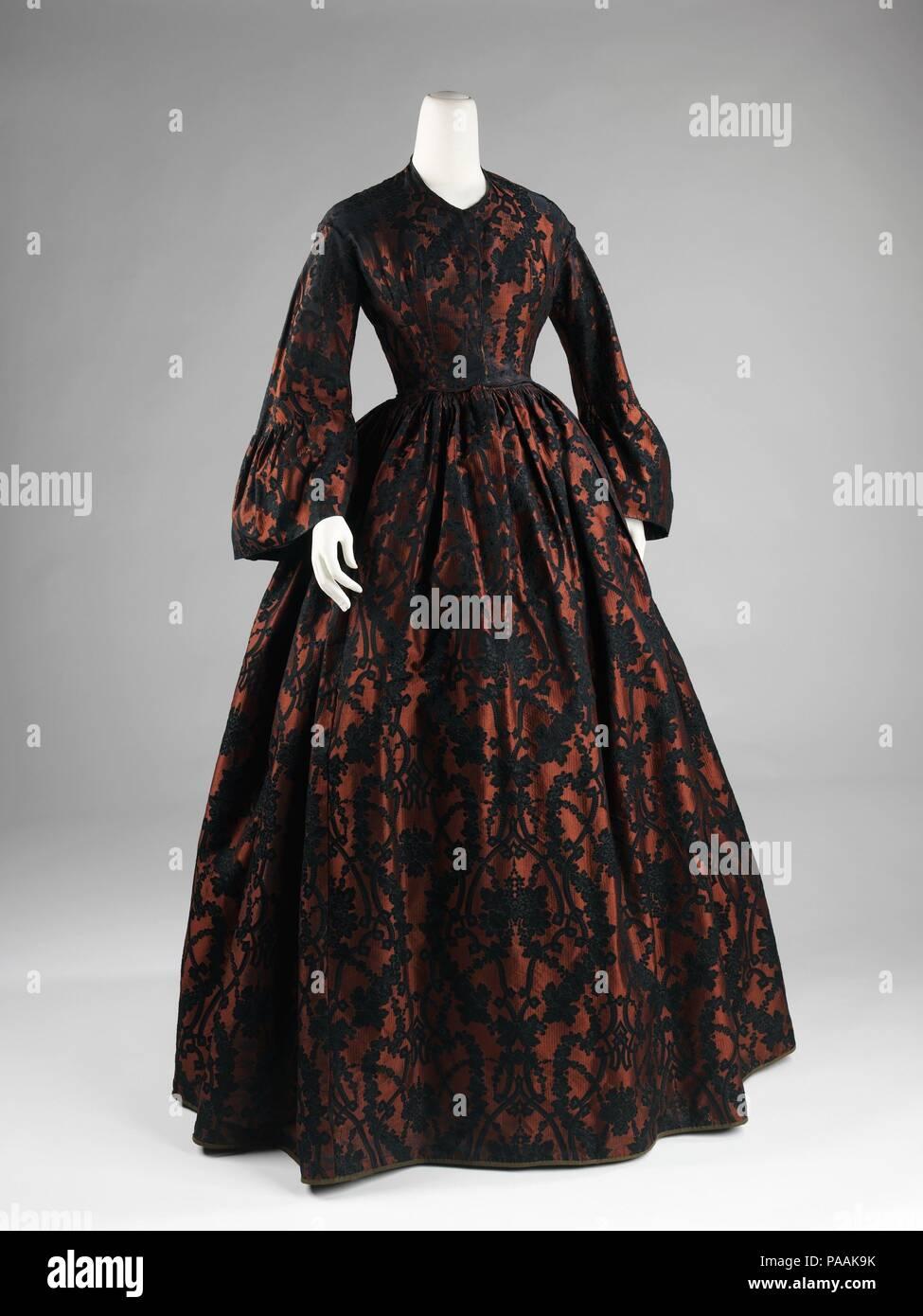 Abiti Da Sera 1860.Abito Da Sera Cultura American Data 1860 62 La Femmina