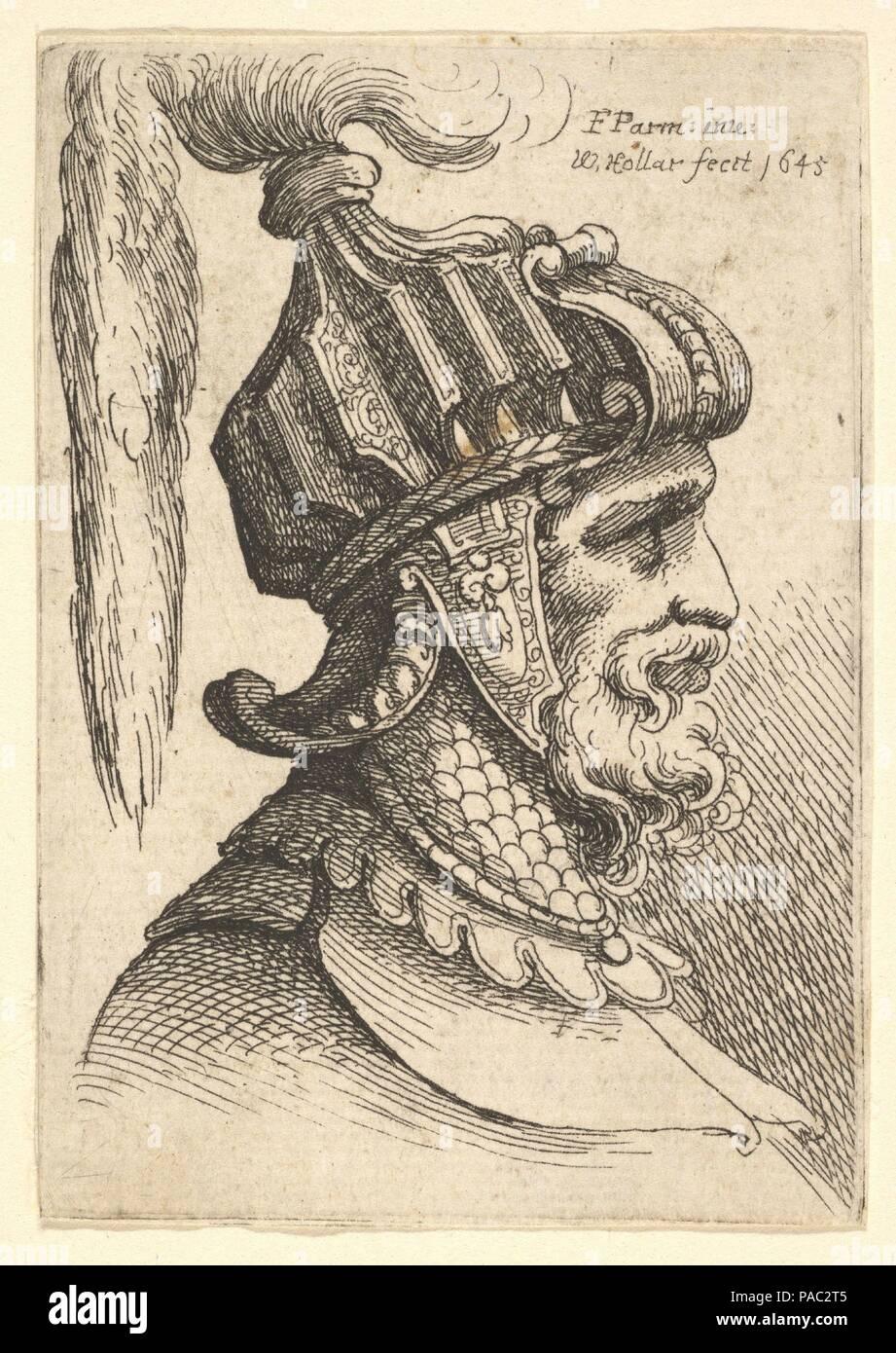 ac788b034 Helmeted testa. Artista  Dopo Parmigianino (Girolamo Francesco Maria  Mazzola) (italiano