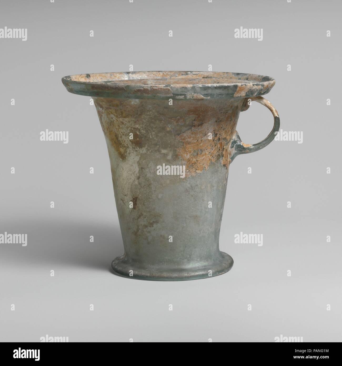 Modiolus Vetro One Gestite Cup Cultura Romano Dimensioni H 5