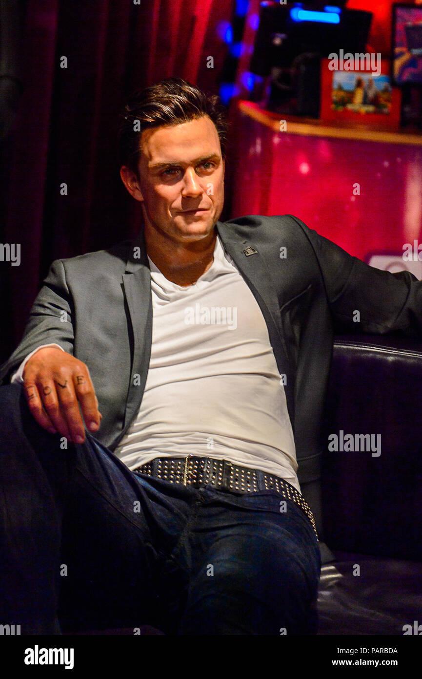 Museo Delle Cere Amsterdam.Amsterdam Paesi Bassi Ott 26 2016 Robbie Williams Museo Delle
