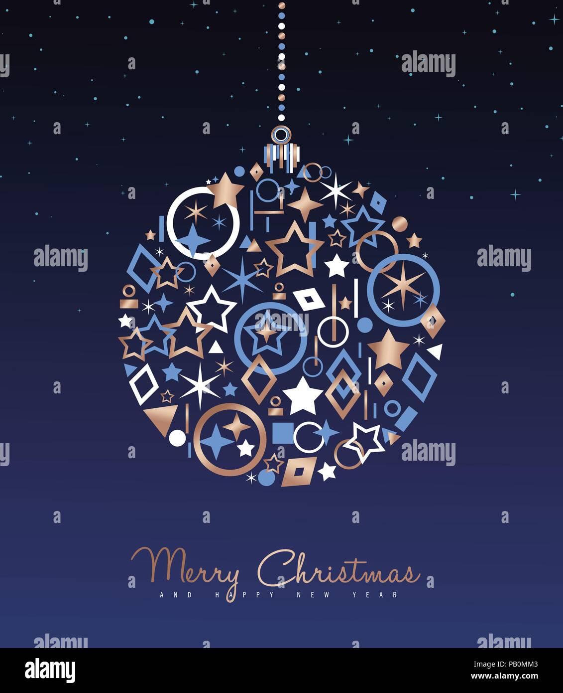Auguri Di Buon Natale Eleganti.Auguri Di Buon Natale E Anno Nuovo Messaggio Di Saluto Di Lusso