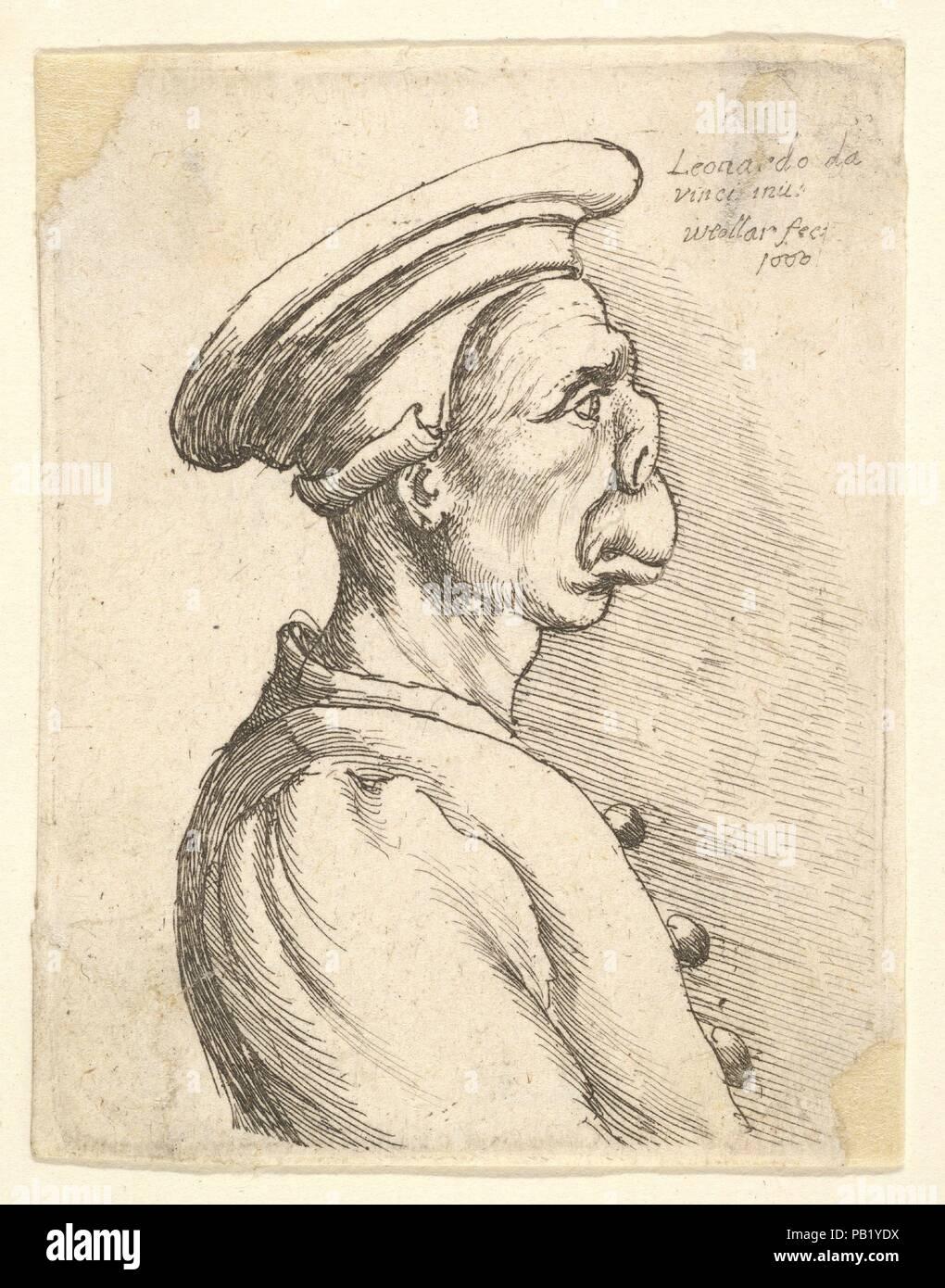 82f7a9454 Il busto di un uomo con una superficie piana di naso e bocca sporgente