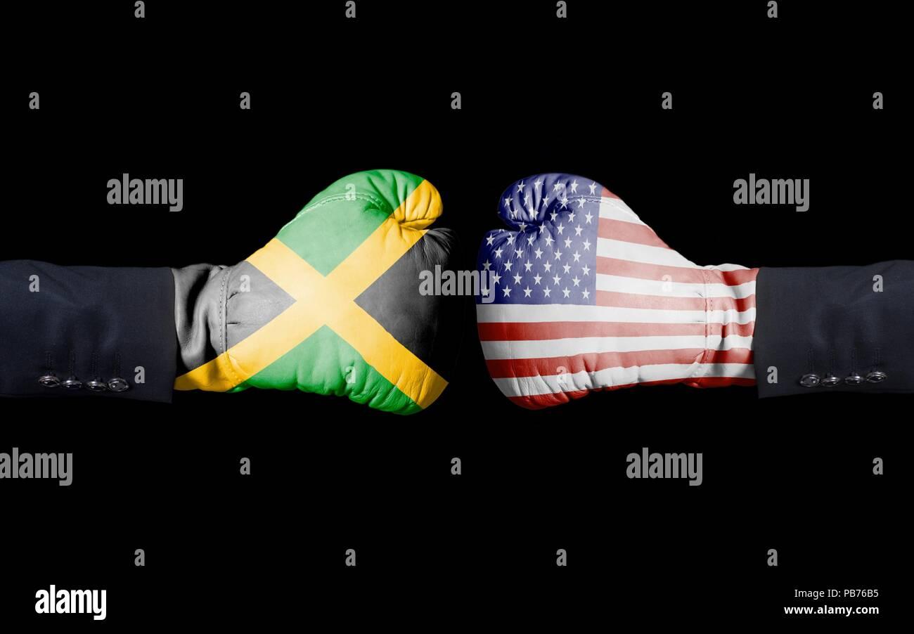 Donna nera che esce con un uomo giamaicano