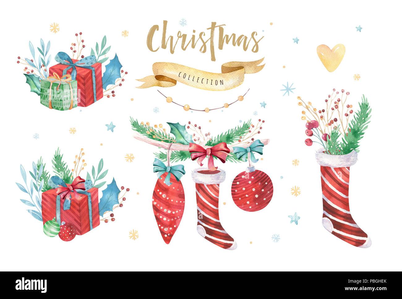Decorazioni Natalizie 2019.Buon Natale E Felice Anno Nuovo 2019 Decorazione Set D Inverno
