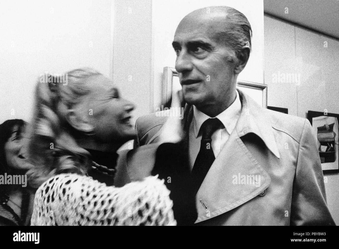 montanelli  Indro montanelli, 1970 Foto & Immagine Stock: 213887663 - Alamy