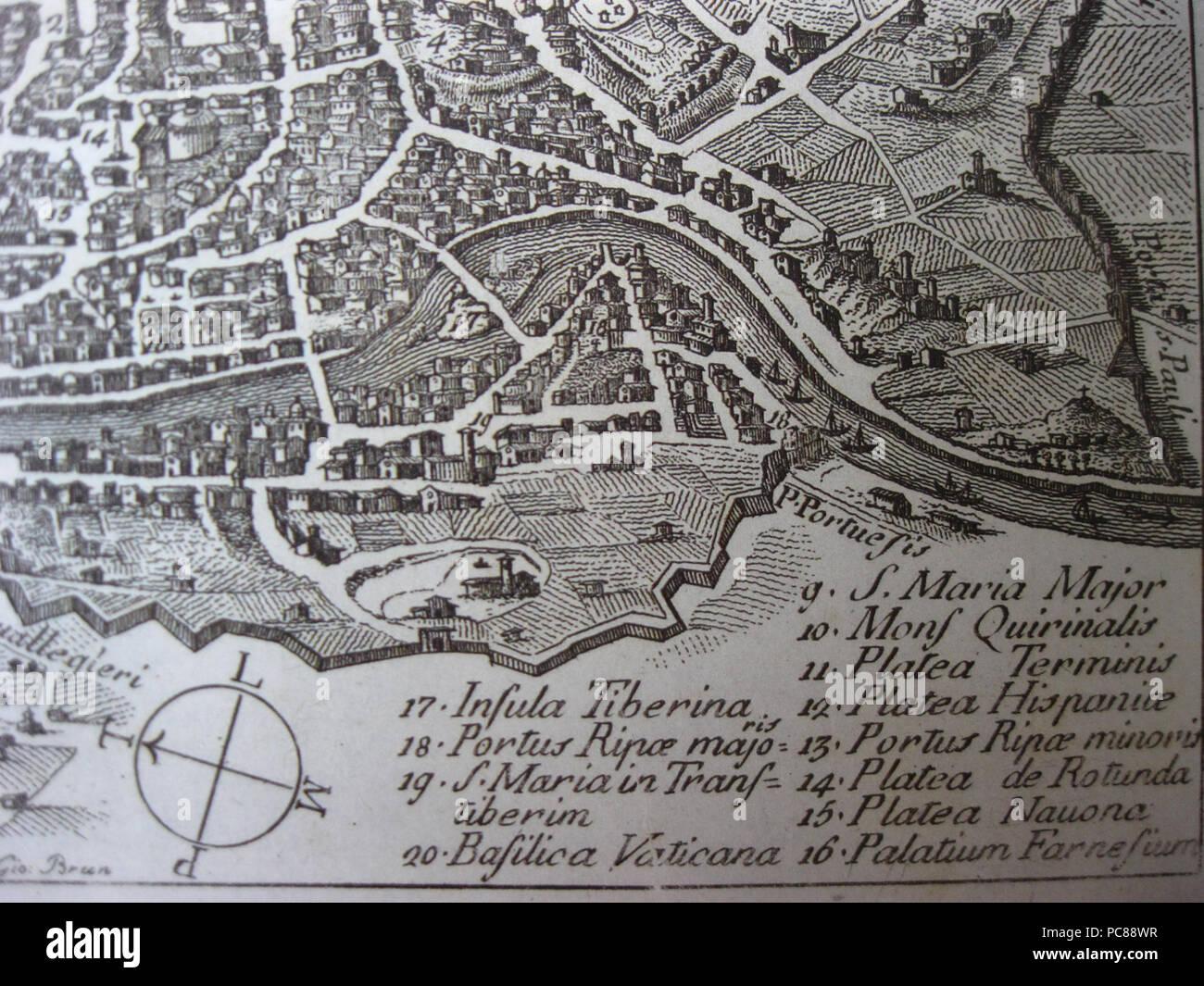 6 1763 Vasi Rom Ausschnitt Immagini Stock