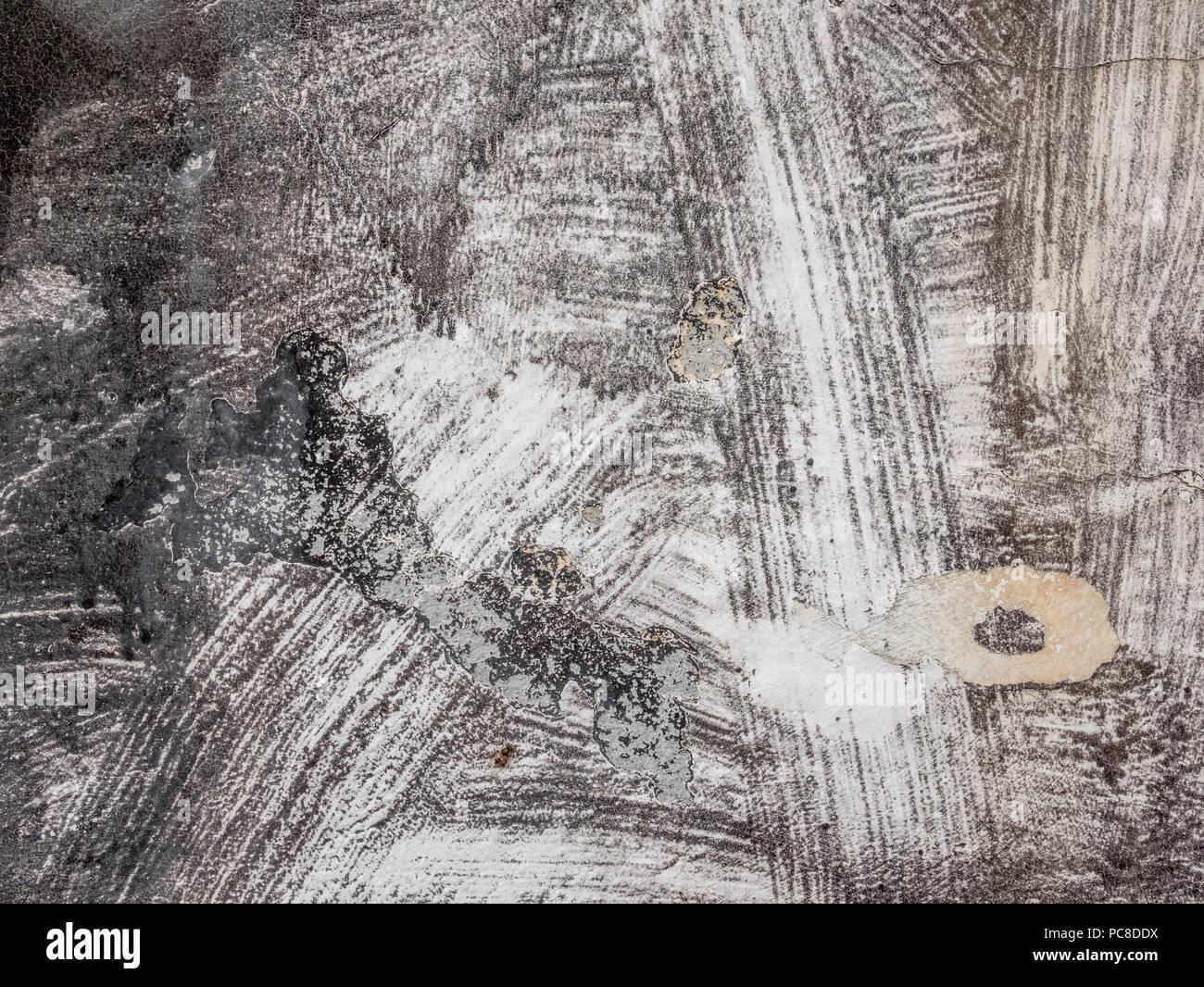 Pareti Esterne Casa : Ruvido e sporco texture di vernice sulle pareti esterne di una