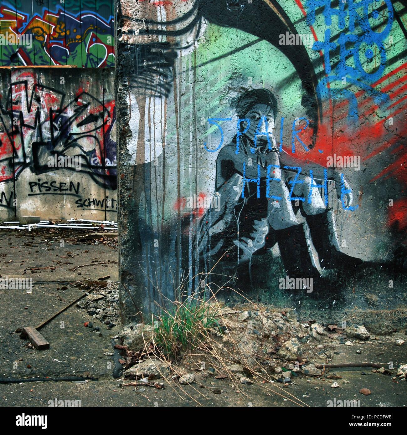 Graffiti,sottocultura,streetart Immagini Stock