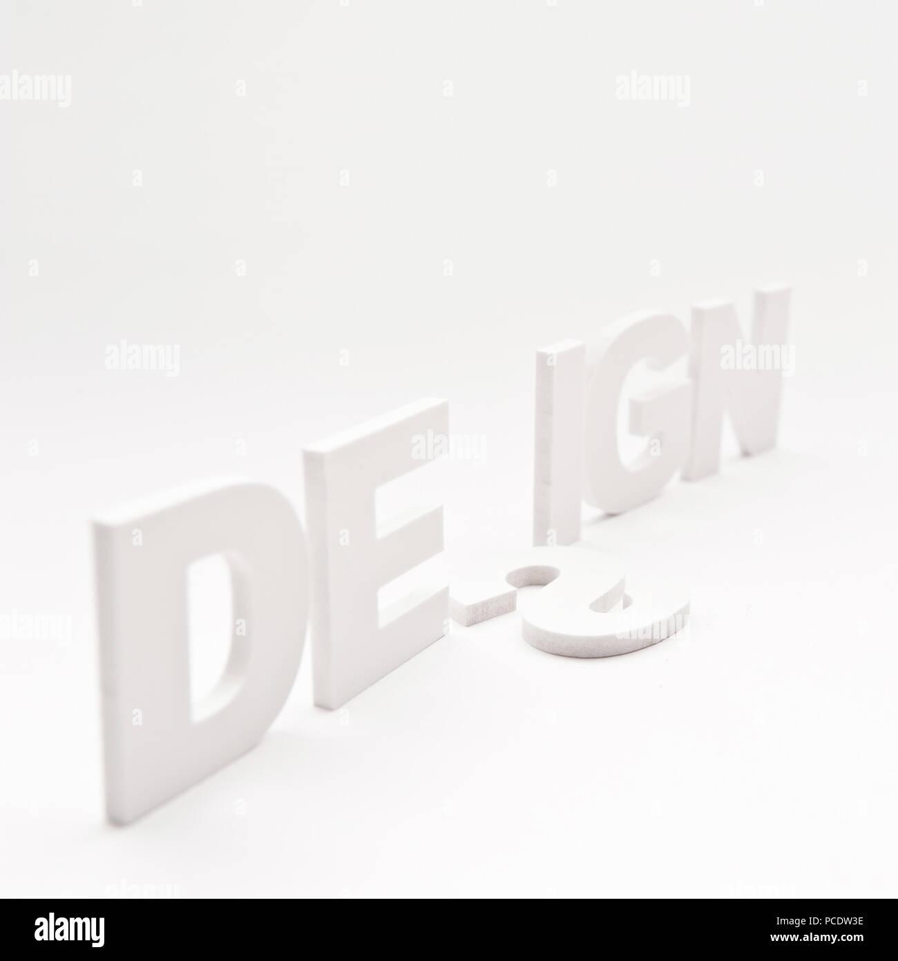 Design,dattiloscritto,tipografia Immagini Stock