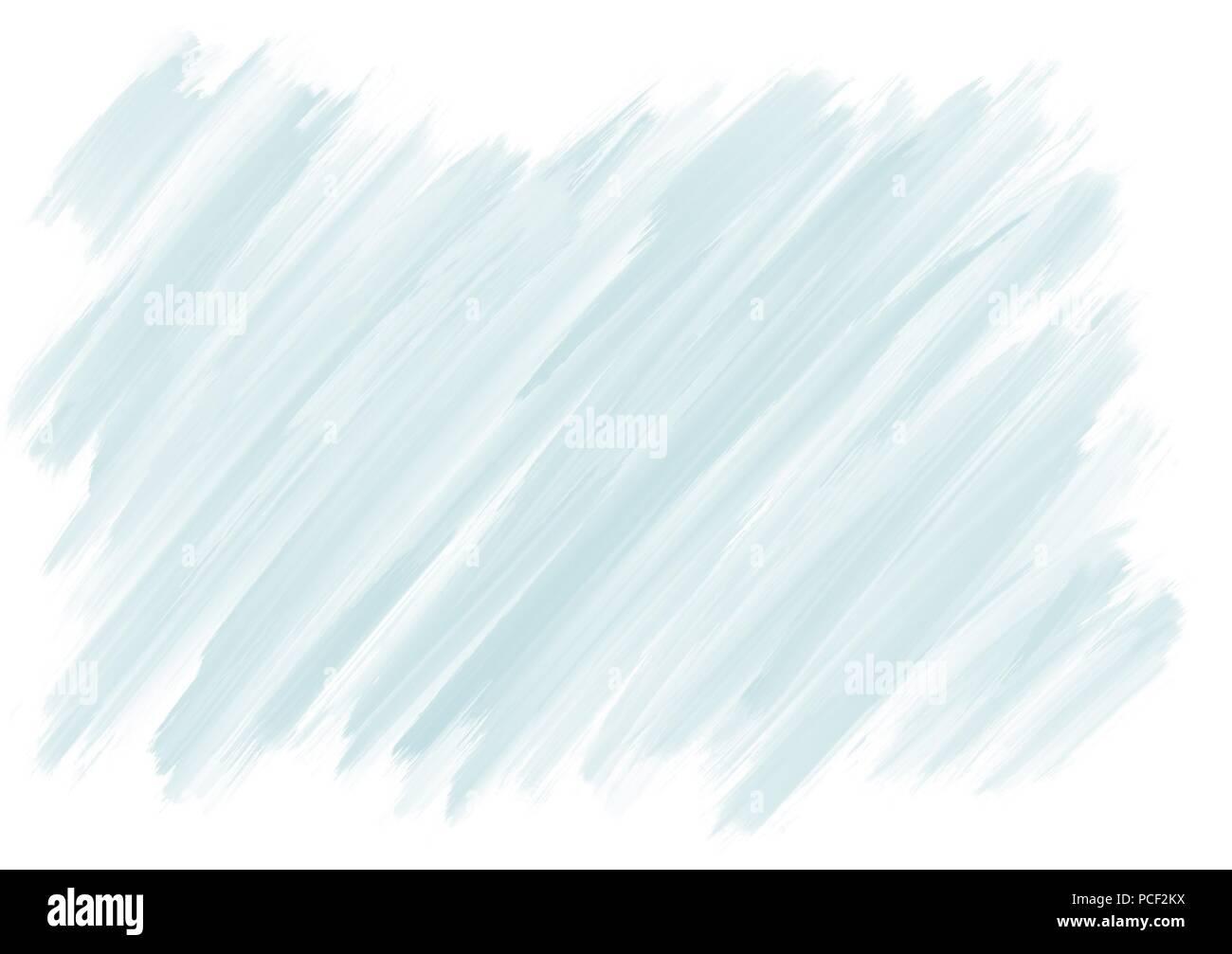 Luce blu gouache paint disegnati a mano illustrazione dello sfondo Immagini Stock