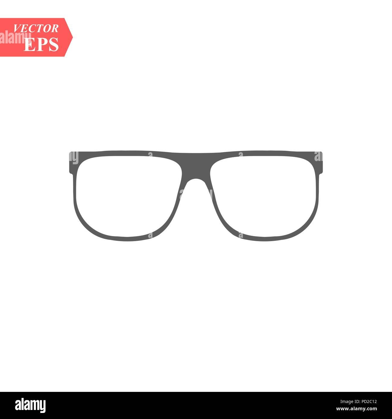 rivenditore di vendita 28044 ff949 Bicchieri classic icona. Montatura per occhiali icona ...